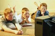 дети, телевизор,  агрессивные фильмы, детские страхи