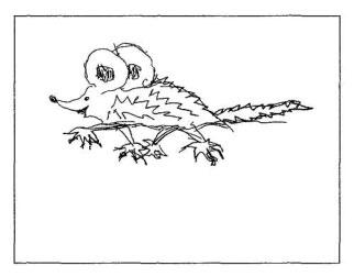 тесты, рисунок несуществующего животного