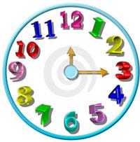 представления о времени