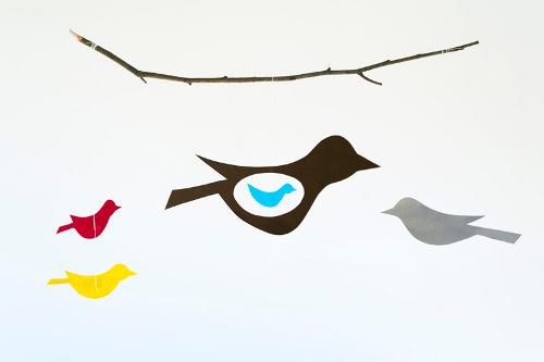 как сделать бумажную птицу
