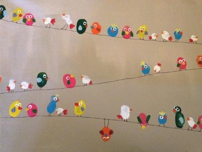 поделки птицы