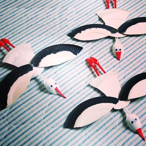 поделки птиц своими руками