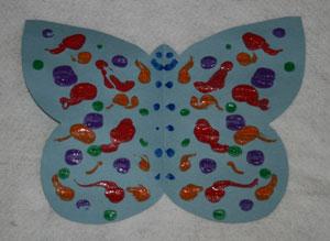 поделки бабочки