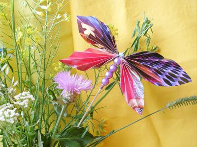 поделки из бумаги бабочка