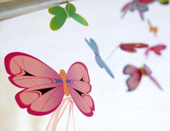 как сделать из бумаги бабочку