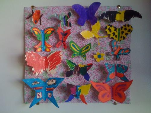 бабочки мастер класс