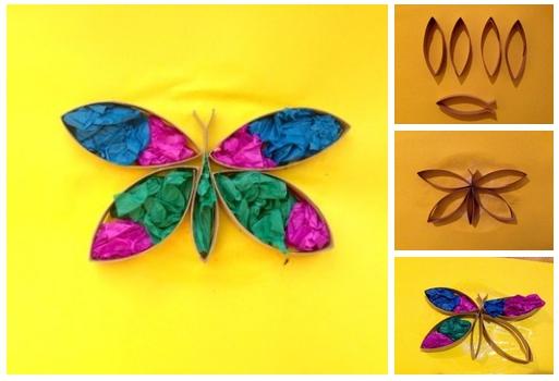 поделка бабочка