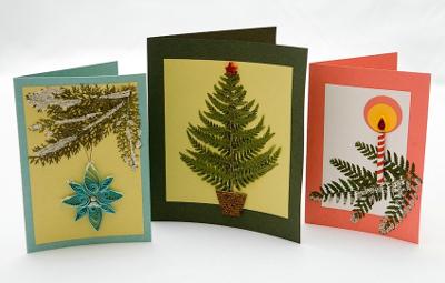 Заготовки новогодних открыток своими руками