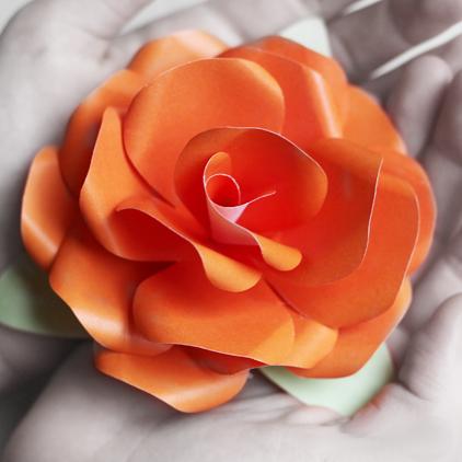 Цветы из бумаги своими руками поэтапно фото