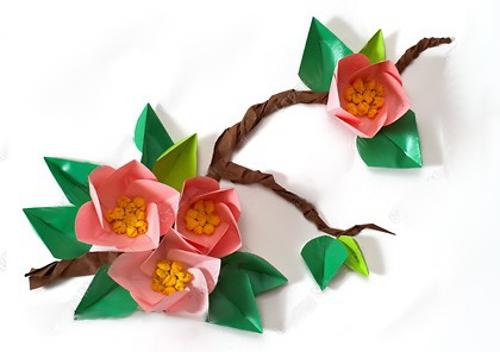 мастер класс цветы из бумаги