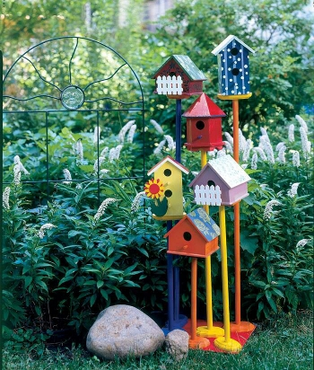 Для сада поделки для сада своими