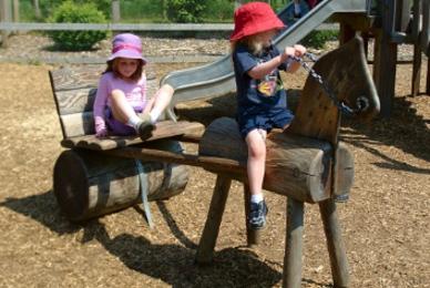 украшение детских площадок