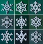 """Вернуться в раздел  """"Всё...  Схемы снежинок из термомозаики можно придумать самим либо воспользоваться готовыми."""