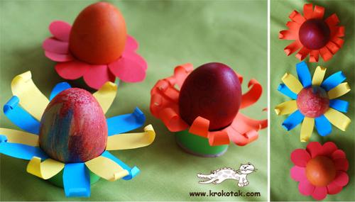 Подставка под пасхальное яйцо своими