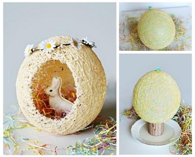 пасхальное яйцо поделки