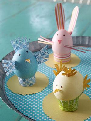 детские поделки из яиц