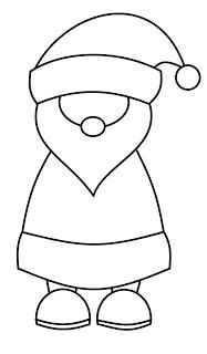 как нарисовать деда мороза