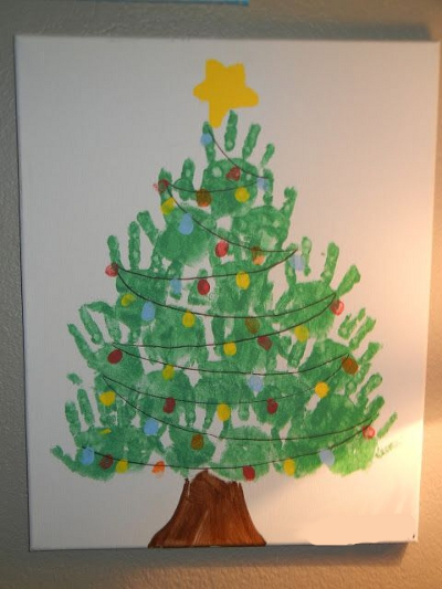 елка новогодняя рисунок