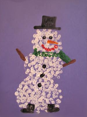 снеговик картинки нарисованные