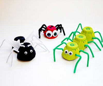 Бабочки своими руками из бросового материала