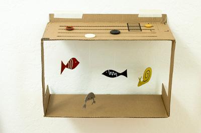 поделки из картонных коробок