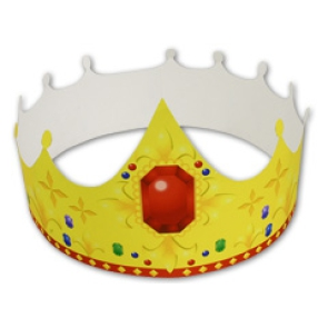 do-it-yourself crown with paper