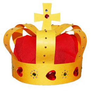 do-it-yourself crown of the king