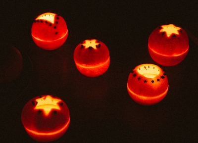 новогодние фонарики своими руками