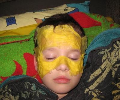 маска папье маше