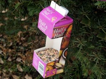 поделки из пакетов из под молока
