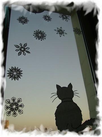 вытынанки новогодние шаблоны