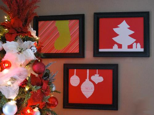 Новогодние открытки киригами своими руками