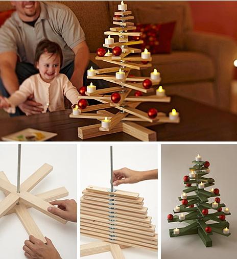 новогодние елки своими руками фото