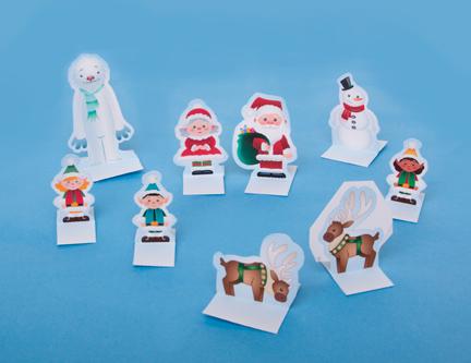 Новогодней игрушки из бумаги своими руками