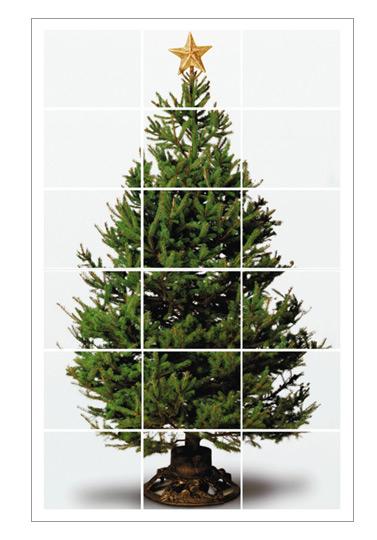 Поделка вместо елки