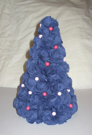 Как сделать новогодние елочки из
