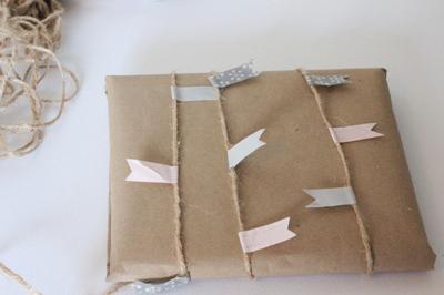 как сделать новогоднюю упаковку