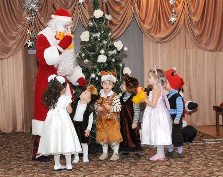 Новый год детский новогодний праздник