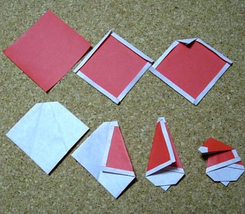 Дед мороз оригами схема фото 516