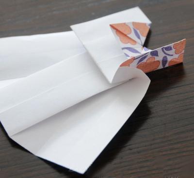 платье из бумаги своими руками