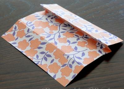 как сделать из бумаги платье оригами