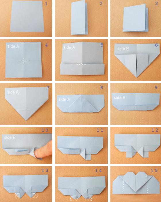 Как сделать своими руками кармашки из бумаги