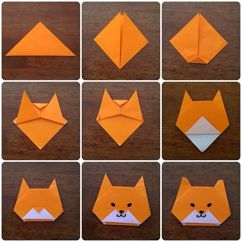 Origami Fish Folding Instructions  YouTube