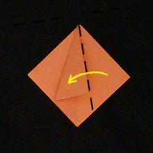 тюльпан из бумаги оригами