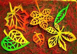 Осенние вытынанки