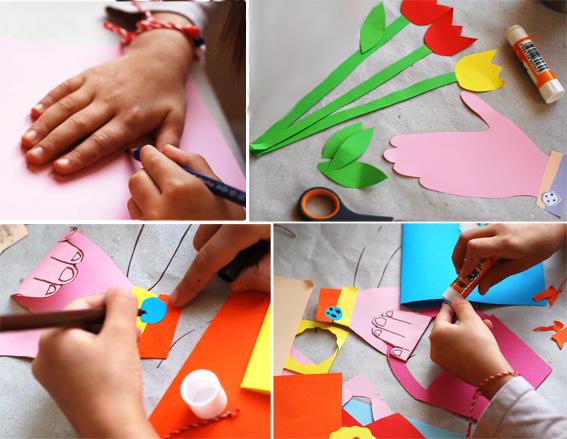 Как сделать подарок для мамы своими руками цветы