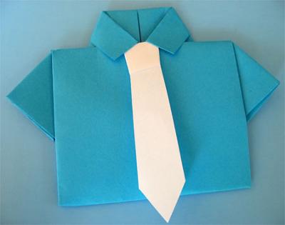 оригами на 23 февраля в