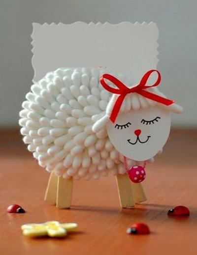 коза овца поделки