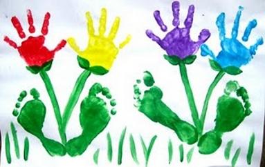 Рисунки отпечатки пальчиками