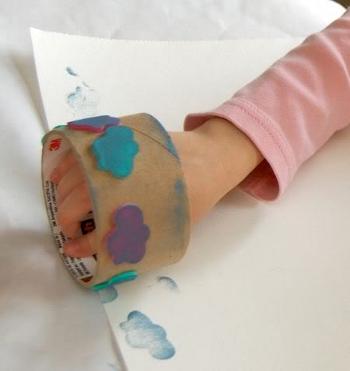рисуем штампиками